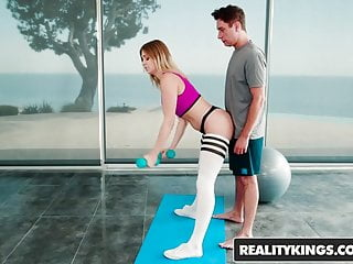 Pilates nude Reality kings - monster curves - pilates - giselle palmer br