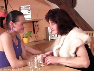 Sexy old grannys Sexy old granny seducing young girl