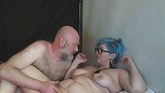 Hot sexy milf webcam slut AimeeParadise fucks her husband ))