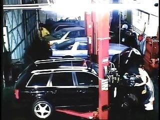 Fucking in garage - Keegan skky interracial fuck in garage