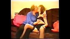 British amateur couple fuck on sofa