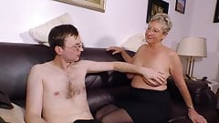 GRANNY ANGELIKA AND TOYBOY