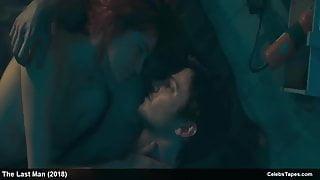 Celebrity Liz Solari topless and erotic movie scenes