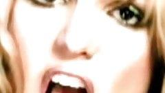 britney tongue loop #032
