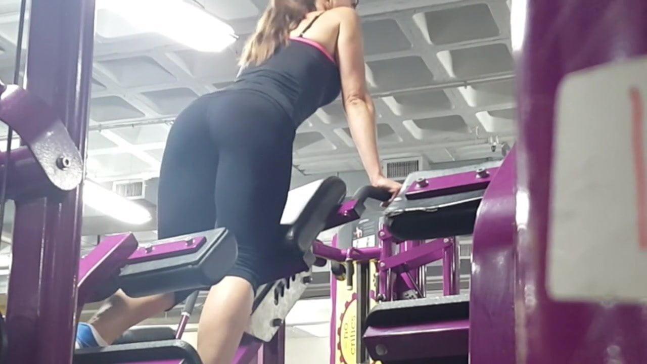 Candid leggings best porn pics