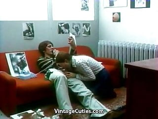 Vintage duck calls - Hot babe has dirty telephone call 1970s vintage