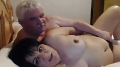 Blackangel38888 Mature MF couple play in bed together