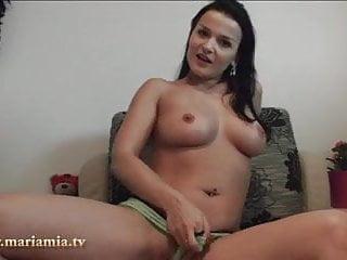 Maria kanellis having sex - Maria mia fickt sich selbst in arsch.