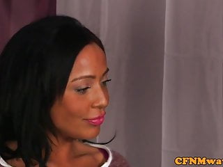 Carla cox interracial Cfnm carla cox gives mean hj session