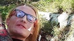 Kristen Grett-Idan in forest trip