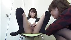Japanese Girl Show Pussy to Her Friend II