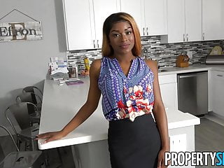 Tits fucking freeones Propertysex - busty agent with amazing natural tits fucking