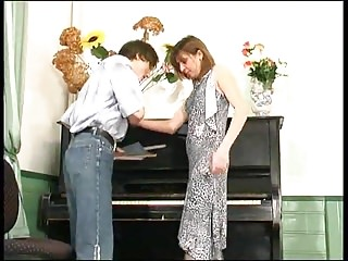 Naked girl on piano - Russian mature orsi anal fucked on piano