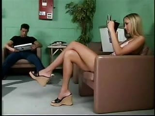 Lesbian movies fetish - Sexy shoes does anyone know the movie or the girl