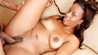 Black Cutie Michelle Malone Gets Drilled