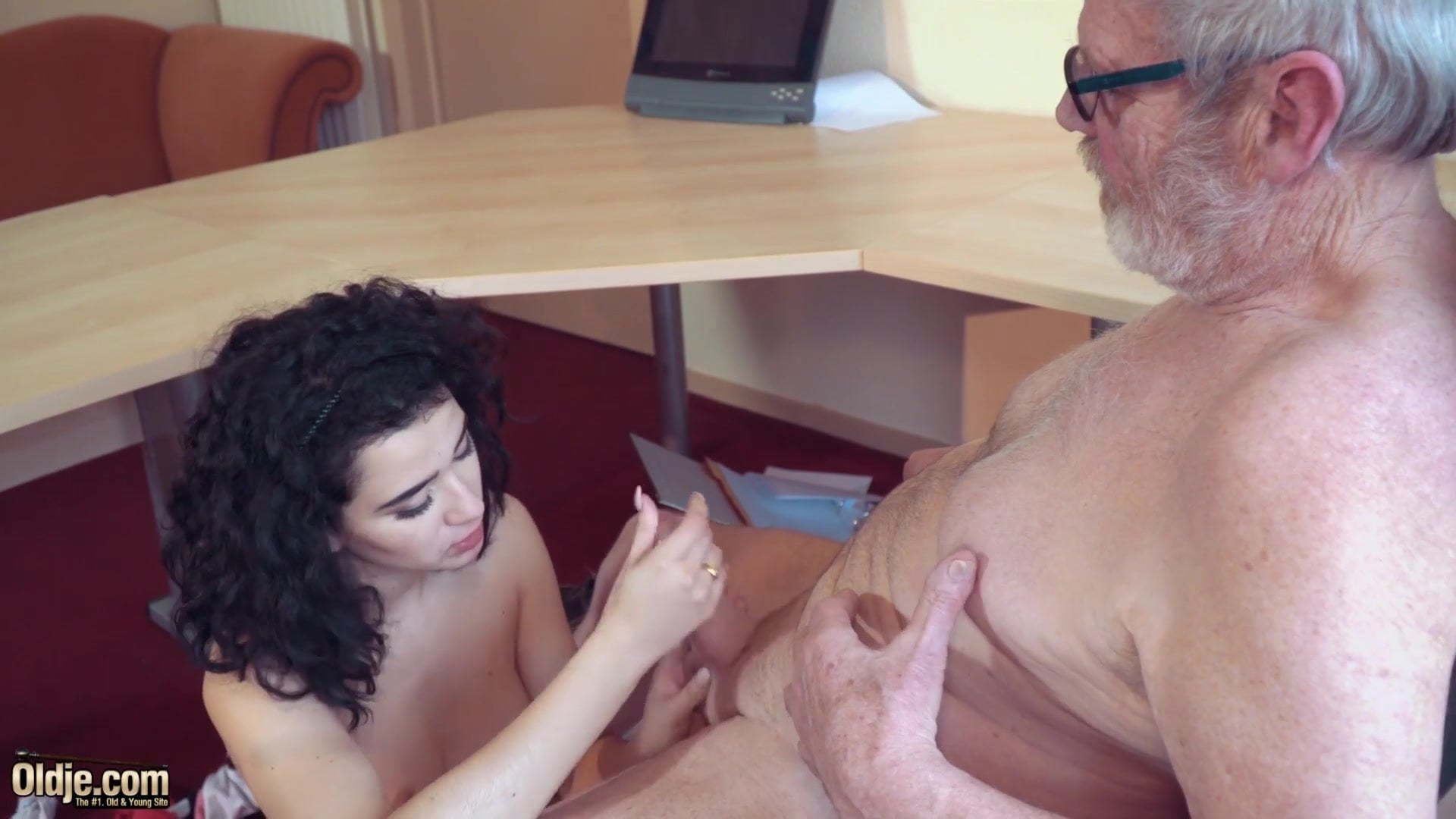 Old Guy Creampie Young Girl