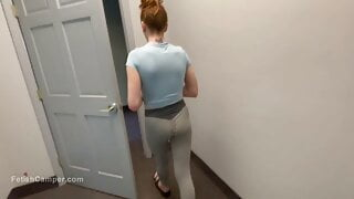 College girl tours my confusing mansion