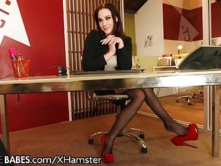 Men fucking at work Milf gives foot fucking at work