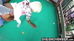 Msnovember Dogging With Her Boyfriend On Mini Golf Course HD
