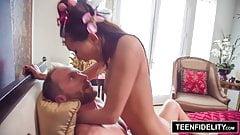 TeenFidelity - Alina Li большие проблемы в маленькой вахине