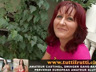 Pooping and peeing fetish porn videos Real amateur euro milf perverse pee and anal porn casting