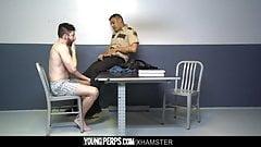 Hot Cop Barebacks A Cute Suspect