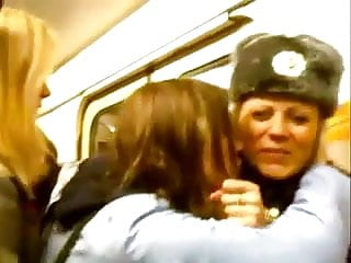 Mature lesbo action Russian lesbo action in metro