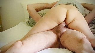Wife makes love
