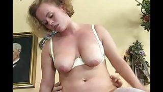 German chubby redhead Jasmin in a nurses orgy