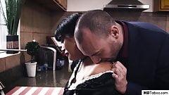 Sick Boss Fucks The Vulnerable Maid
