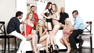 Sex Addicts, Anonymous Meeting Leads To Orgy Fuckfest