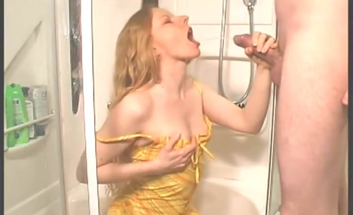 Mistresses party piss on male slave