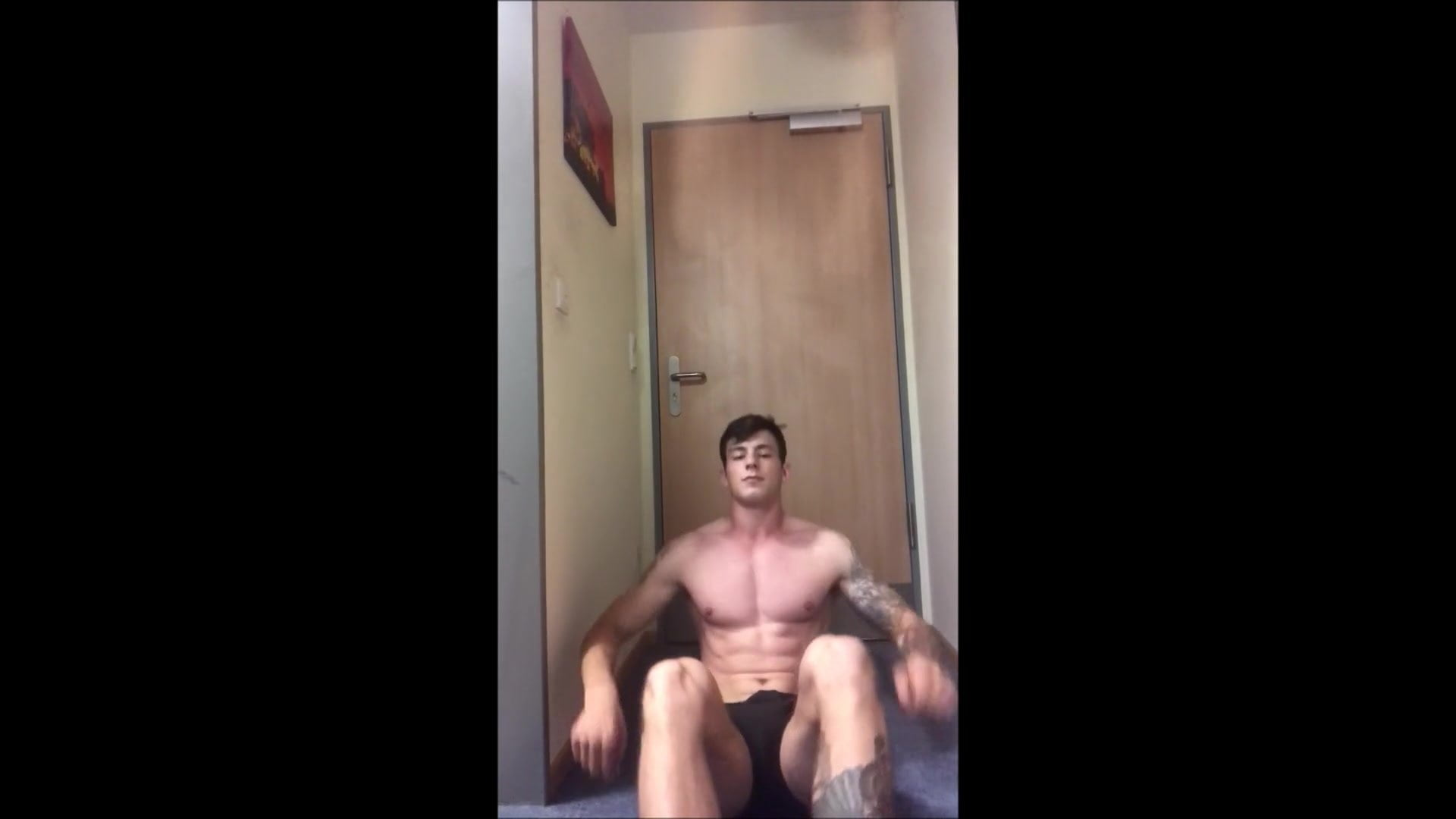 British Guy Jerking Off