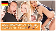 Kitty Blair dicked down & cum-glazed! wolfwagner.casting