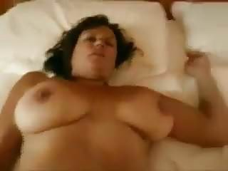 Friends mom strip - Friends mom has a nice hairy pussy