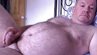 StepDad Jacks Off in Bed
