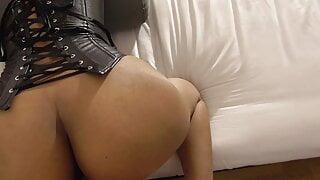 Cum on Indian ass with Hot Sperm