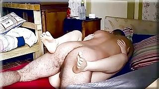FOOT FETISH MORNING SEX PUSSY CREAMPIE 4of4