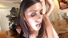 Teen hottie getting her tight cunt stretched