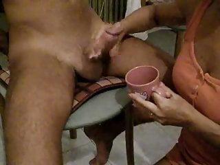 Free girls drinking cum - Girl drink cum from cup