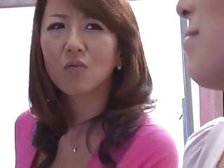 Blackand mature Busty japanese moms and their sons