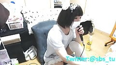 Erotic karaoke practice Riku I will answer roughly