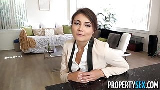 PropertySex - Ridiculously hot real estate agent fucks ex