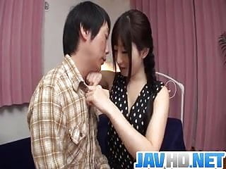 Asian business league Cock sucking arisa nakano gets busy with a tasty dong
