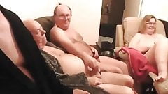 upintime2 Mature British swingers play on cam montage