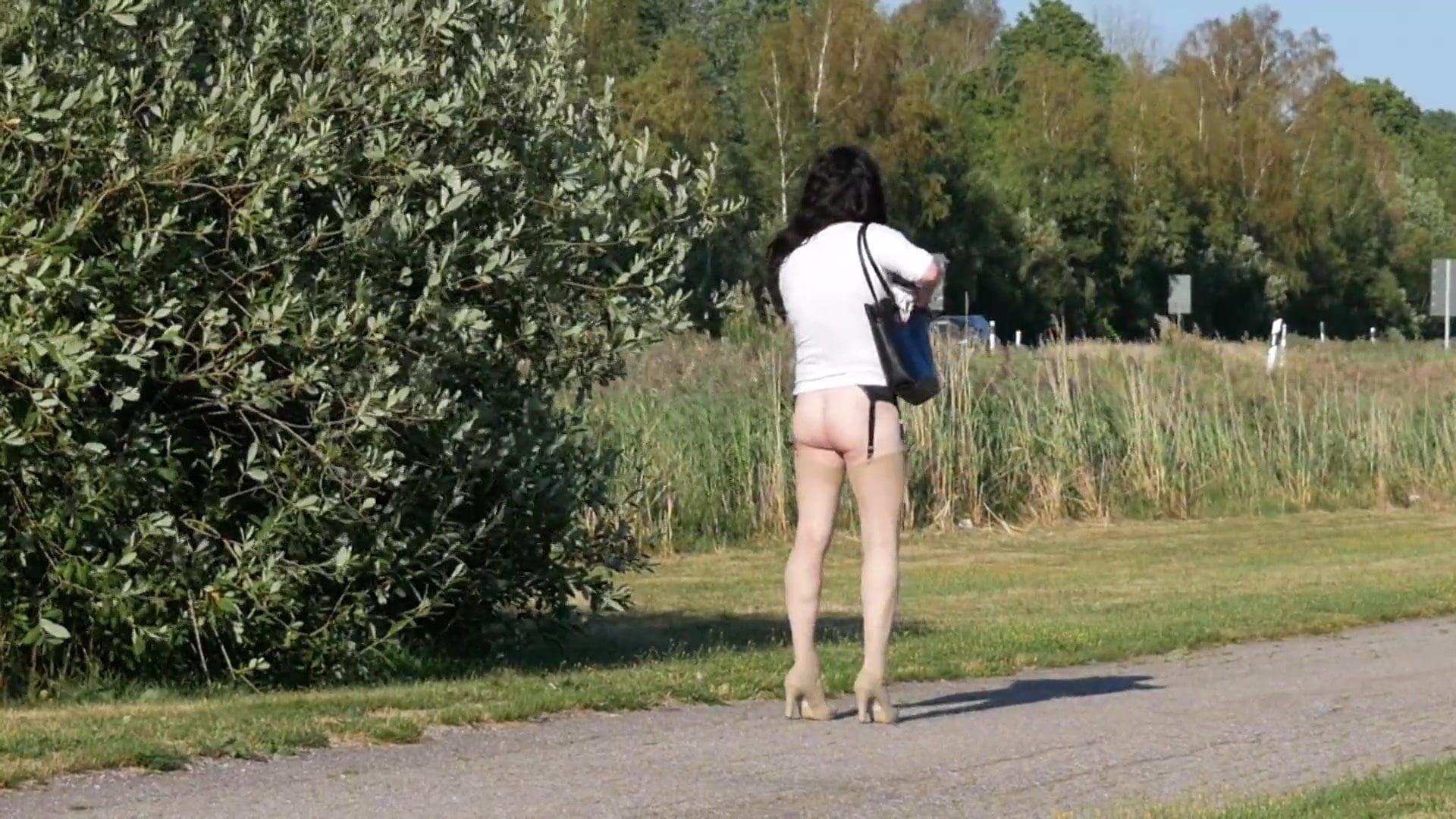 in public Transvestite