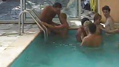 french swingers swimingpool