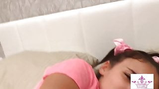 STEPBROTHER FUCKED ANAL YOUNG STEPSISTER WHEN SHE WAS IN BED