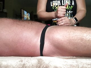 Stories sucking off daddys cock Jerking off daddys pathetic little cock