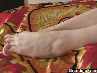 Stories sex grandma sucks young cock - Sex toys and two cocks for naughty grandma